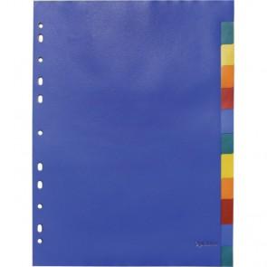 Index pvc 1-12 u boji A4 OPTIMA 28212 P10/120