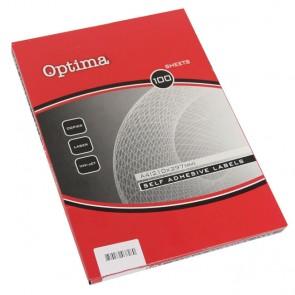 Etikete IJ-Laser A4 35,6x16,9  OPTIMA P10
