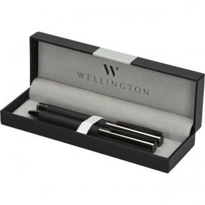 Set pisaći Wellington Stamford ol.kem + roler crni u poklon kutiji P1/200