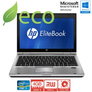 "Refurbished Prijenosno Računalo HP Elite Book 2560p I7-2560M 3,4 GHz / 12,5"" / 4GB DDR3 / 320 GB"