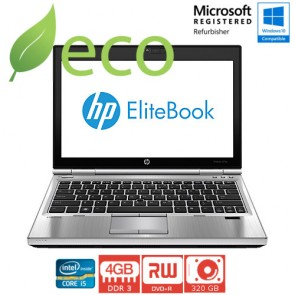 "Refurbished Prijenosno Računalo HP Elite Book 2570p I5-3320M 3,3 GHz / 12,5"" / 4GB DDR3 / 320 GB"