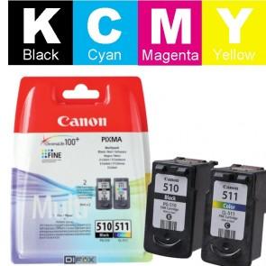 Set Tinta (Canon) PG-510/CL-511 / 2970B010