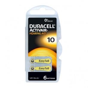 Baterija Duracell Activair 10/PR70 6 kom
