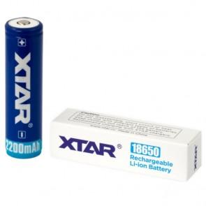 Baterija Punjiva Xtar Li-ion 18650 / 2600 mAh / SA ZAŠTITOM