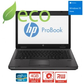 "Refurbished Prijenosno Računalo HP ProBook 6470p I5-3320 2,6GHz / 14"" / 4GB DDR3 / 320 GB / WINDOWS 10 HOME"