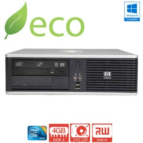 Refurbished Računalo HP DC7800 C2D E7200 2,53 GHz / 4GB DDR2 / 160 GB