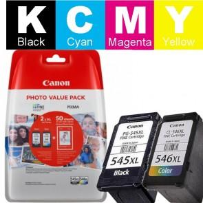 Set Tinta (Canon) PG-545/CL-546 XL / 8286b006