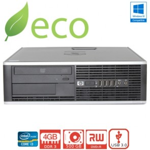 Refurbished Računalo HP Elite 6300 I3-3220 3,3GHz / 4GB DDR3 / 250 GB
