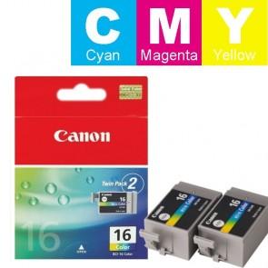 Set Tinta (Canon) BCI-16COL / 9818A002