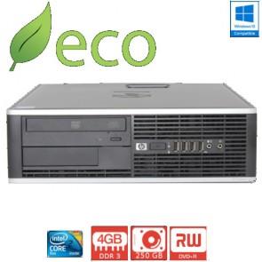 Refurbished Računalo HP Elite 8000 C2D E8400 2,4-3GHz / 4GB DDR3 / 250 GB