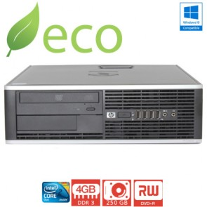 Refurbished Računalo HP Elite 8000 C2D E8400 2,4-3GHz / 4GB DDR3 / 250 GB