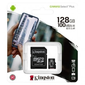 MicroSDHC Memorijska Kartica Kingston Canvas Select Plus 128GB