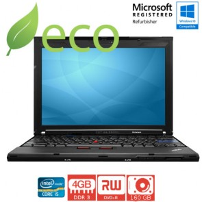 "Refurbished Prijenosno Računalo Lenovo Thinkpad X201 I5-520M 2,40 GHz / 12,1"" / 4GB DDR3 / 160 GB"