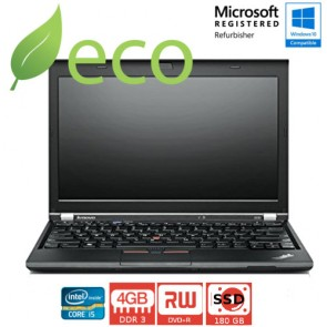 "Refurbished Prijenosno Računalo Lenovo Thinkpad X230 I5-3380M 2,60 GHz / 12,5"" / 4GB DDR3 / 180 GB SSD"